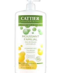 Cattier Gel de Baño y Champu Espumoso Familiar 500ml