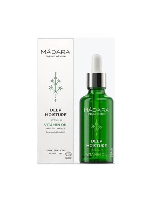 Madara Aceite Vitaminado Multiusos para Cara y Cuerpo Deep Moisture