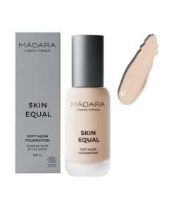 Madara Base de Maquillaje Fluido SPF 15 Skin Equal 10 Porcelain