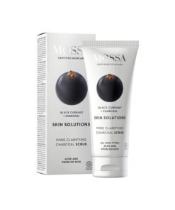 Mossa Purifying Facial Scrub mit Holzkohle