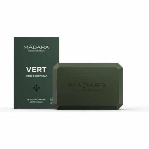 Madara Jabon en Pastilla Corporal Infusion Vert
