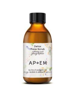 Apoem Exfoliante Facial Detox Face Scrub con Arbol de Te y Eucalipto