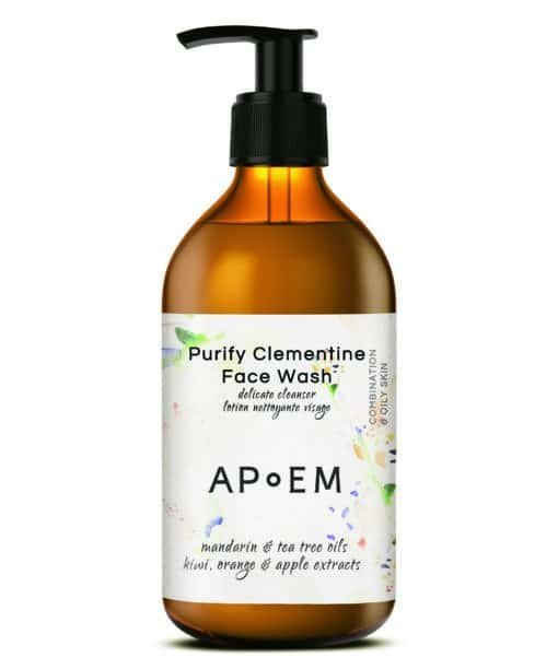 Apoem Limpiador Facial Detox Face Wash