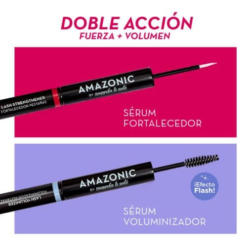 Nuggela & Sule Amazonic Serum Fortalecedor de Pestañas + Voluminizador