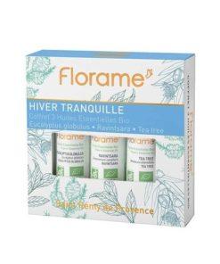 Florame Caja Tranquilidad Invernal - Eucaliptus , Ravintsara , Árbol del té