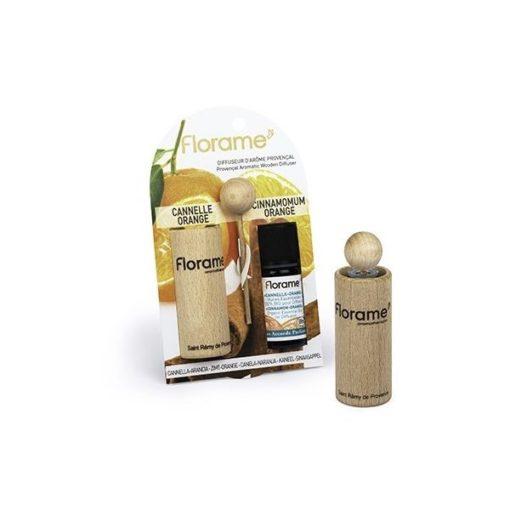 Florame Difusor Provenzal + Aceite Esencial de Canela Naranja