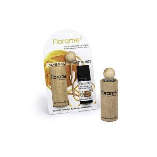 Florame Difusor Provenzal + Aceite Esencial de Naranja