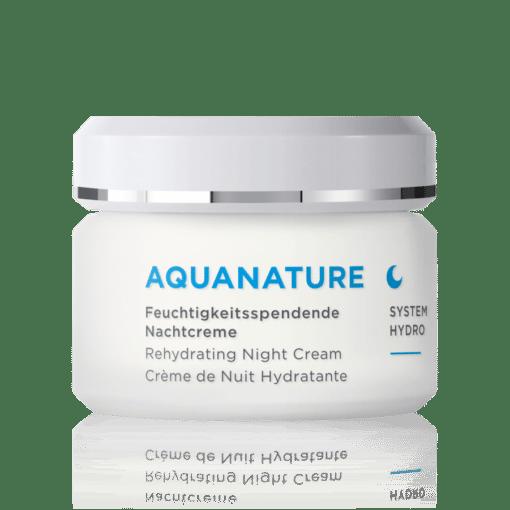 Annemarie Börlind Aquanature Crema de Noche Regeneradora