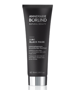 Annemarie Börlind Mascarilla Facial 2 en 1 Black Mask para Pieles Mixtas