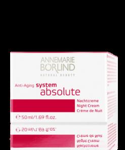 Annemarie Börlind System Absolute Crema de Noche Rich