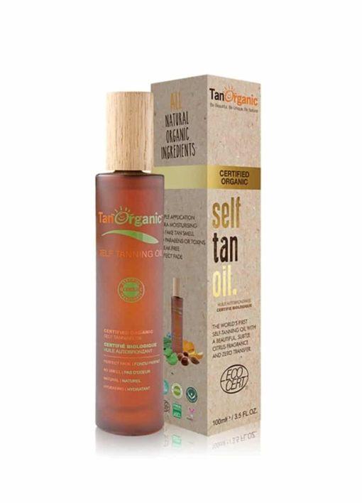 Tanorganic Autobronceador Hidratante Transparente Oil