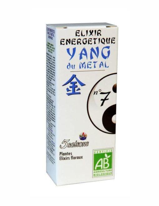 5 Saisons Elixir 07 Yang del Metal (Tomillo)