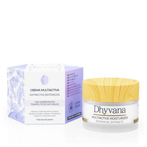Dhyvana Crema multiactiva con Extractos Botánicos