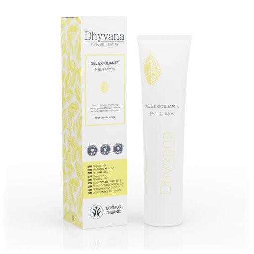 Dhyvana Gel Exfoliante Facial con Miel y Limón Unique Beauty