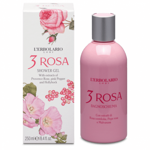 L'Erbolario 3 Rosa Gel de Baño