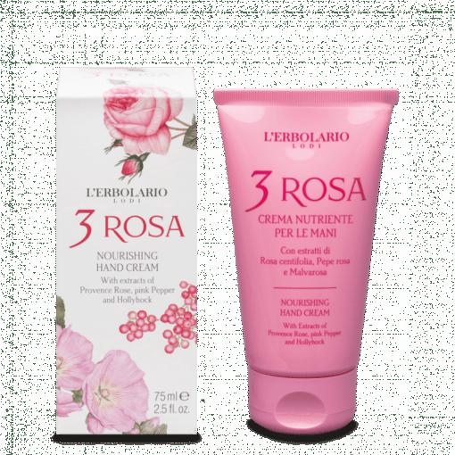 L'Erbolario Crema de Manos Nutritiva 3 Rosa