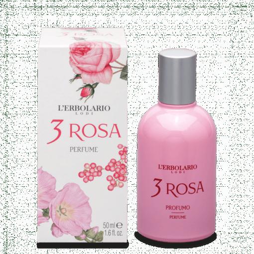 L'Erbolario Perfume 3 Rosa 50ml