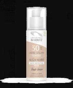 Laboratoires de Biarritz Crema Solar Facial Color Marfil SPF30
