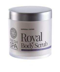 Natura Siberica Crema Exfoliante Corporal Royal Renovadora
