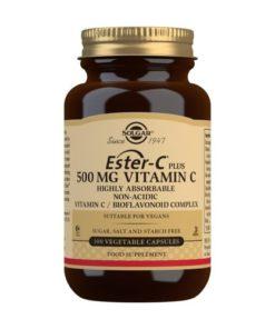 Solgar Ester-C® Plus Vitamina C 500 mg - 100 Comprimidos