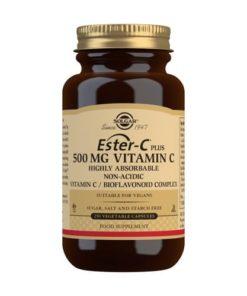 Solgar Ester-C® Plus Vitamina C 500 mg - 250 Comprimidos