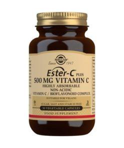 Solgar Ester-C® Plus Vitamina C 500 mg - 50 Comprimidos