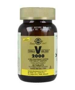 Solgar Fórmula VM-2000 - 60 Comprimidos