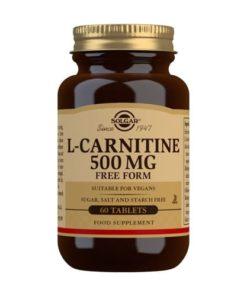 Solgar L-Carnitina 500 mg - 60 Comprimidos