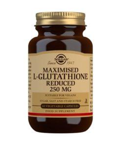 Solgar L-Glutatin Maximizado 250 mg - 60 Cápsulas vegetales