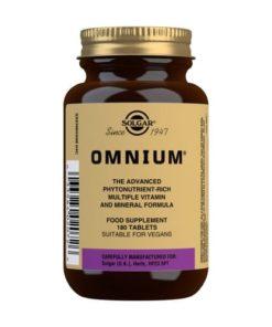 Solgar Omnium 180 comprimidos