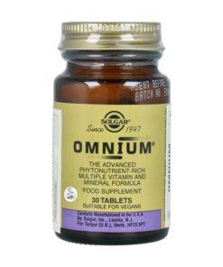 Solgar Omnium 30 comprimidos
