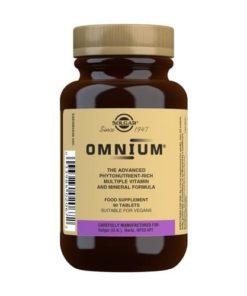 Solgar Omnium 90 comprimidos
